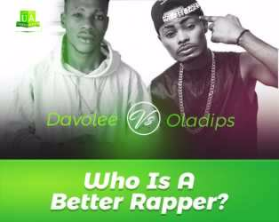 Be Very Honest: Oladips Vs Davolee: Who Is A Better Rapper?